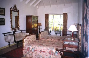 Antiques in the Guest Cottage