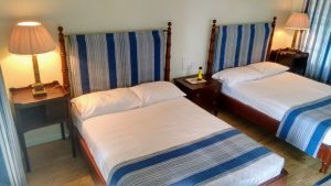 The Blue Bedroom at Hill Rise House