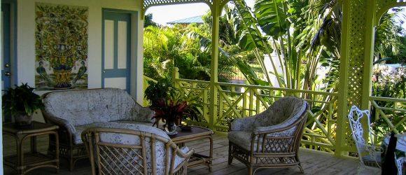 The Guest Cottage Verandah