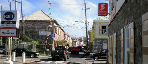 Charlestown - Capital of Nevis