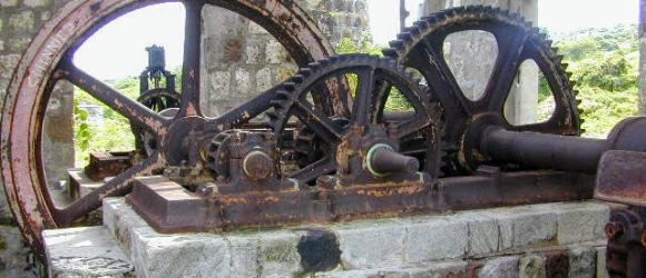 Old Cane Crusher at New River