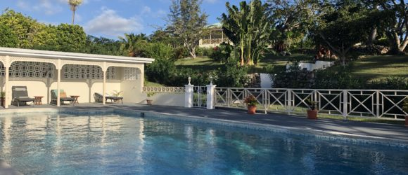 The Pool at Hill Rise House, Nevis, West Indies